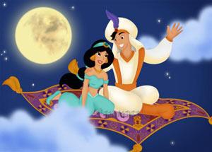 Аладдін і принцеса Жасмін