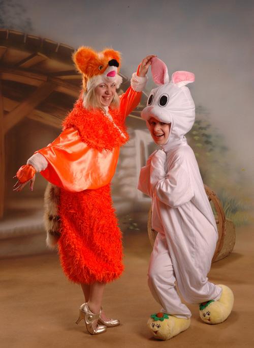 Лисичка-сестричка та зайчик-побігайчик